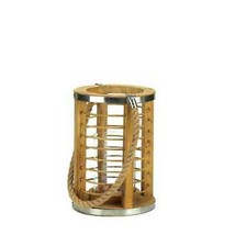 Strand Wooden Brown Candle Lantern - £22.22 GBP