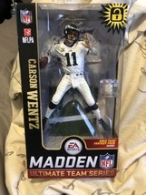 Carson Wentz Philadelphia Eagles Madden NFL 19 Ultimate Team Series 1 Mc... - $19.62