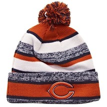 Era Chicago Bears 2014 On Field Sport Cuffed Pom Knit Beanie Hat/Cap - $44.11