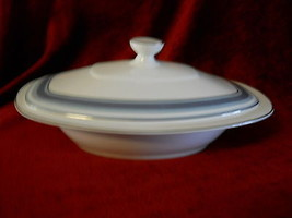 Royal Doulton Eastbrook covered serving bowl chip on handle - $34.60