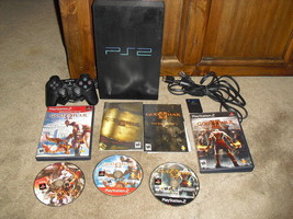 Playstation 2 Console SCPH 30001 2 GAMES GOD OF WAR 1 AND 2 WITH BONUS DISK - $69.29