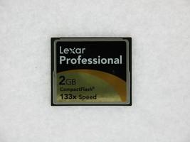 Lexar Professional 2GB 133X Speed PN:2726 REV A Compact Flash Card