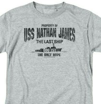 LAST SHIP USS NATHAN JAMES MENS REGULAR FIT T-SHIRT TV SHOW TNT165 image 2