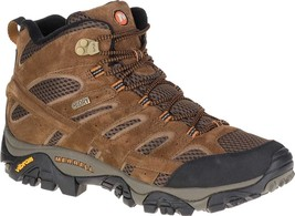 Merrell Moab 2 Mid Waterproof Hiking Boots (Men's) in Earth Brown - NEW - $141.71