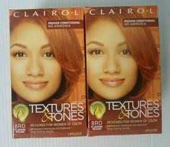 Clairol Textures & Tones Color 8RO Flaming Desire Hair Color (2 pieces) - $22.99