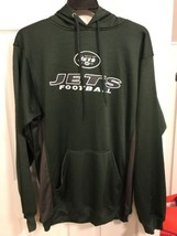 BNWTS NFL TEAM APPAREL New York Jets Pull Over Sweatshirt  Hoodie LT LAR... - $39.59