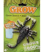 Poison Bug Insect Prank MAGIC GROWING SCORPION Halloween Horror Prop Dec... - $3.93
