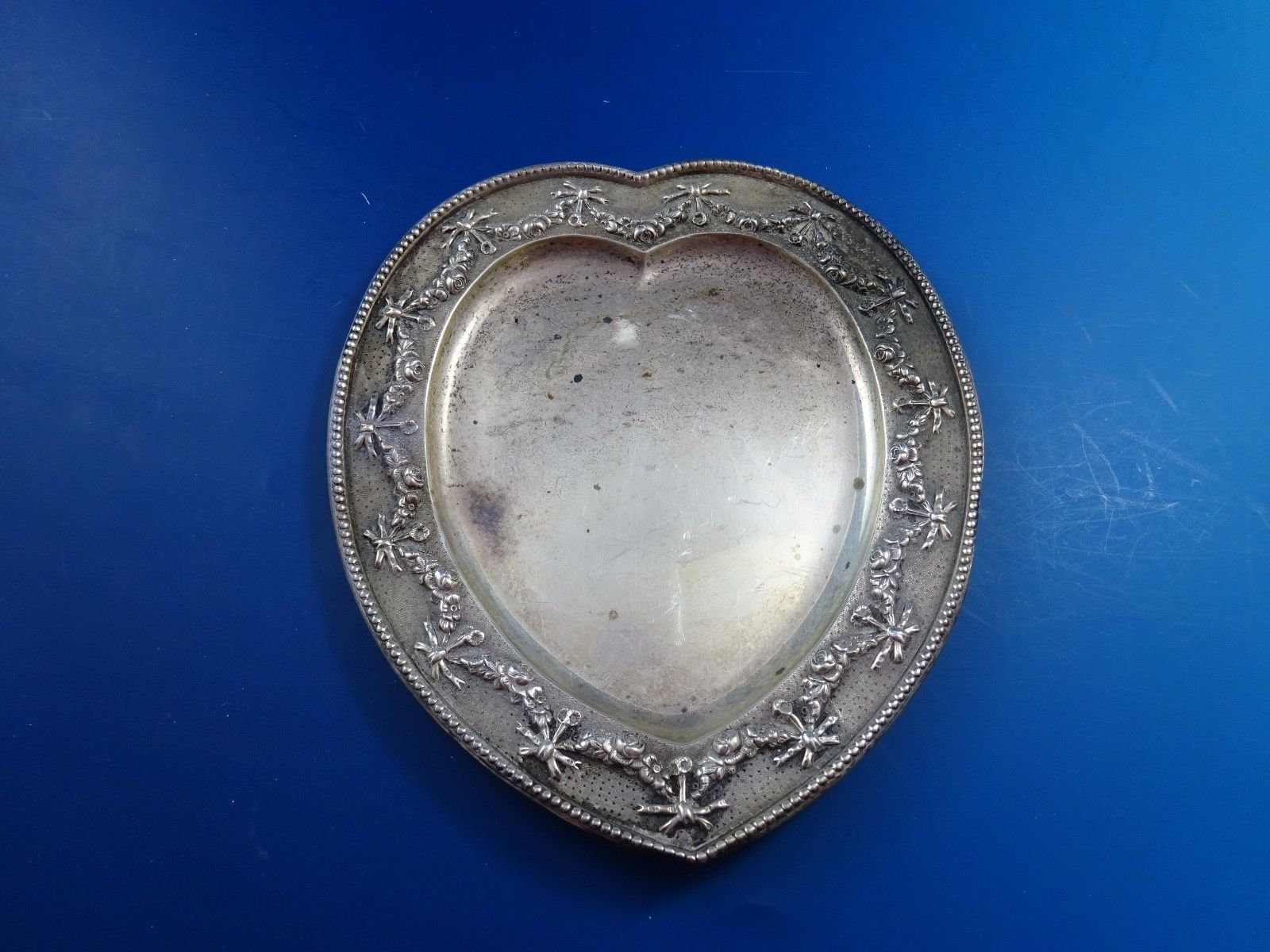 Gorham Sterling Silver Heart Shaped Business and similar items