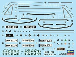 Hasegawa 1/24 BMW 2002tii plastic model car HC23 - $77.39