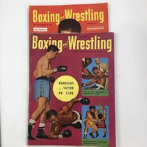October 1953 1952 Boxing and Wrestling Magazine Two Issues Bucceroni Rob... - $17.05