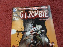 G.I. ZOMBIE # 4 (New 52) * NM- * 2015 * Scott Hampton Artwork!! - $1.00