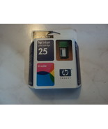 Genuine HP 25 TRI-COLOR Ink Cartridge 51625A - New Sealed - $9.79