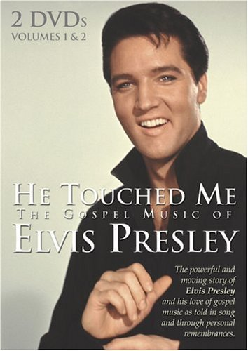 He touched me   2 dvds   elvis presley