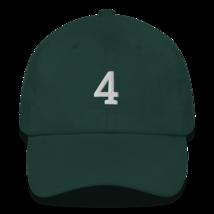 BRETT FAVRE 4 HAT / FAVRE HAT / 4 HAT / packers hat / DAD HAT image 3
