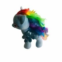 Build A Bear BAB My Little Pony Rainbow Dash Plush Stuffed Animal Blue - $18.49