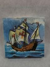 Santa Maria, Columbus Ship 1/270 plastic model kit, Smer Vintage - $15.83