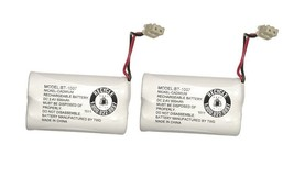 Uniden BT-1007 BBTY0651101 NiCD 500mAh DC 2.4V Rechargeable Phone Battery 2-Pack - $9.85