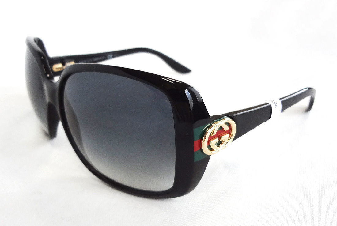 289352cdce412 Gucci Women s Sunglasses GG3166S Shiny Black and 41 similar items. S l1600