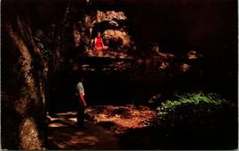 Vtg Carte Postale - The 7 Caves Bainbridge, Oh Phantom Cheminée De Fantô... - $23.89