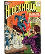 BLACKHAWK #126 1958 DC SHRUNKEN BLACKHAWKS SCI FI WAR VG- - $37.83
