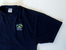1998 Big Stitch Golf Tournament Men's T-Shirt XXL Blue Hanes Beefy-T image 2