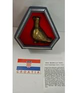 Republic of Croatia Souvenir incense burner Vučedol Dove sign of peace b... - $24.74