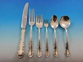 Georgian Rose by Reed & Barton Sterling Silver Flatware Service Set 54 Pieces - $2,650.00