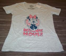 VINTAGE STYLE WOMEN'S TEEN Walt Disney MINNIE MOUSE T-shirt MEDIUM NEW w... - $19.80