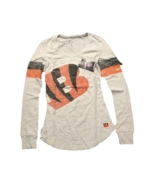 NWT New Cincinnati Bengals Nike Women's Take it Long Long Sleeve Small Shirt. - $37.57