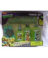 Teenage Mutant Ninja Turtles Mutant Mango Scented Travel Bath Set, 5 PC - $9.75