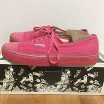 Vans X Marc Jacobs Colaboración Auténtico Rosa Color Zapatillas Eu 10 Usado - €164,47 EUR