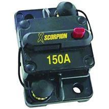 Electrical Circuit Breaker 12v Dc Compact Breaker Circuit 150 Amp - Black - $28.99