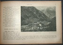Antique Book 1934 Italy Spa Guide Part II Alpine Resorts Piemonte Photo Maps image 9
