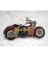 Hard Rock Cafe Motorcycle Chopper Enameled Pin Las Vegas Red Black & Whi... - $16.34