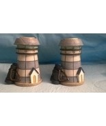 Two Mini  3 1/2 Inches Lighthouse Candle Holders   - $15.83