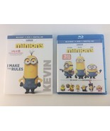Minions Target Exclusive (Blu-ray Disc, 2015, 3-Disc Set) w/ Kevin Slipc... - $12.86