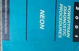 2001 Dodge Mopar Neon Powertrain Diagnose Procedures Shop Manuell OEM Fa... - $28.25