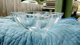 "Vintage Rare Waterford Metra Crystal Bowl 10"" Modern Styling 2001 - 2011 - $425.00"