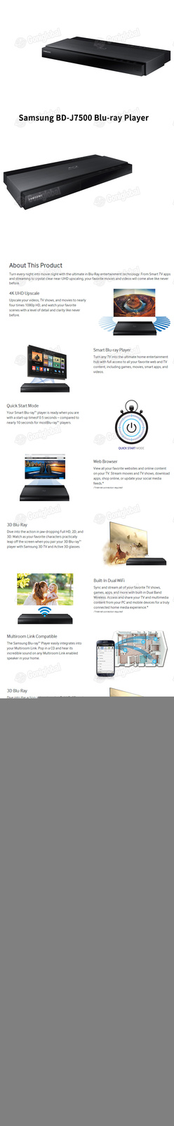 Samsung bd j7500