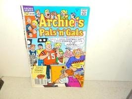 Vintage COMIC-ARCHIE COMICS-ARCHIE'S Pals N Gals - # 220- JAN.1991- GOOD-L8 - $3.91