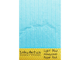Inky Antics Light Blue Honeycomb Paper Pad #HCP-BLU image 1