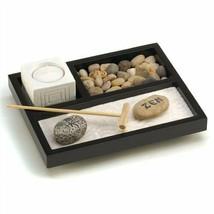 Tabletop Zen Garden Box Kit Candleholder - $7.84