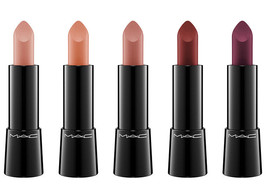 MAC Mineralize Rich Lipstick FASHION PACK Pale Pink Nude HAUTE Collectio... - $14.50