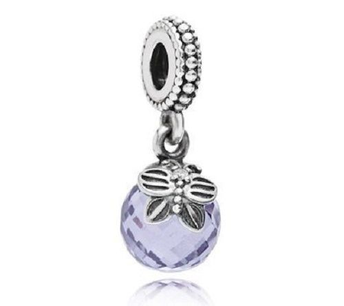 AUTHENTIC PANDORA Morning Butterfly TOUCH OF COLOR Charm,Lavender,79125LCZ