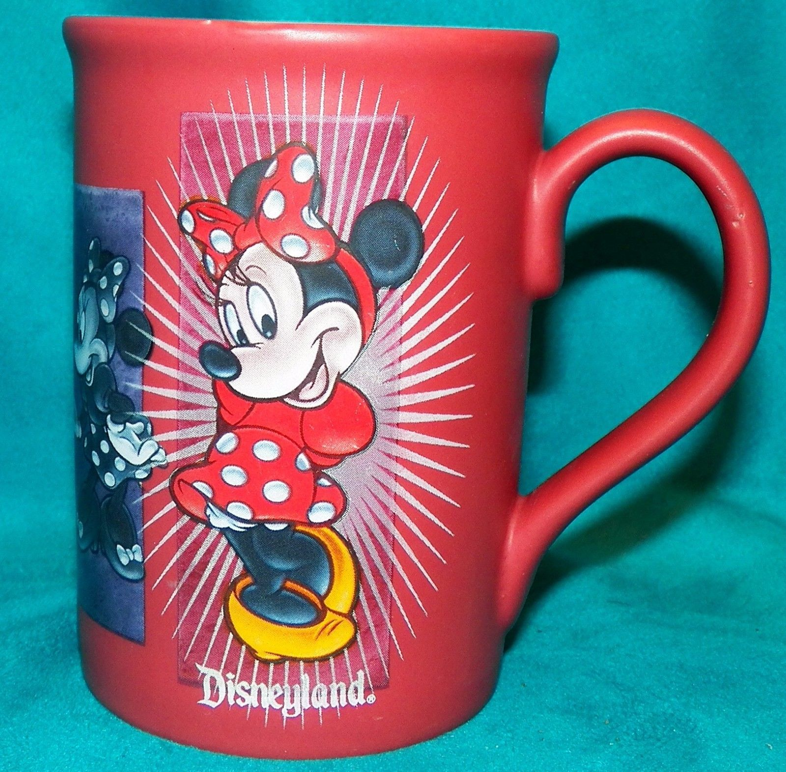 Disneyland Resort Walt Disney Parks Minnie Mouse Emotions Coffee Mug Cup 12 oz