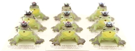Hagen-Renaker Miniature Frog Prince Kissing Birthstone 11 November Topaz image 6