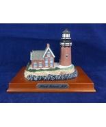 Block Island Rhode Island Model Collectible Lighthouse On Base - $6.50