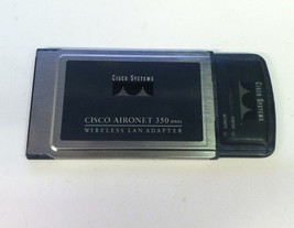 Cisco Aironet 350 Wireless Lan Adapter AIR-PCM350 Series Pcmcia - $10.00