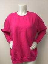 Pink Sweatshirt Women XL Cotton Blend Gildan Heavy Blend Camping Workout... - $19.60