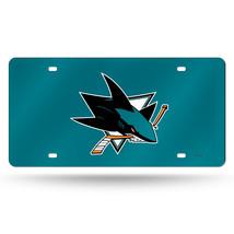 NHL San Jose Sharks Laser License Plate Tag - Teal - $29.39